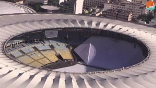 بالفيديو.. تعرف على مرافق أولمبياد ريودي جانيرو من الجو