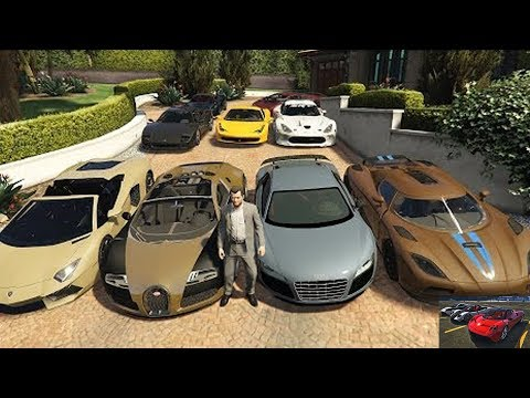 GTA 5 - How To Find Super Cars For Free !!! (Spawn Location)