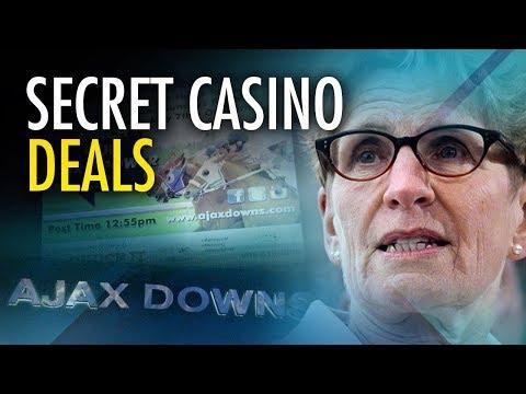 Wynne Liberals keep everyone in the dark about Ajax Downs casino closure