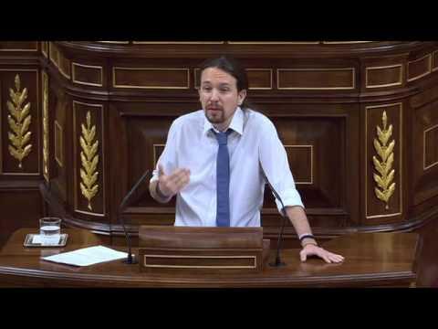 PABLO IGLESIAS (Podemos) humilla BRUTALMENTE a ALBERT RIVERA en Moción de Censura (14/06/2017)