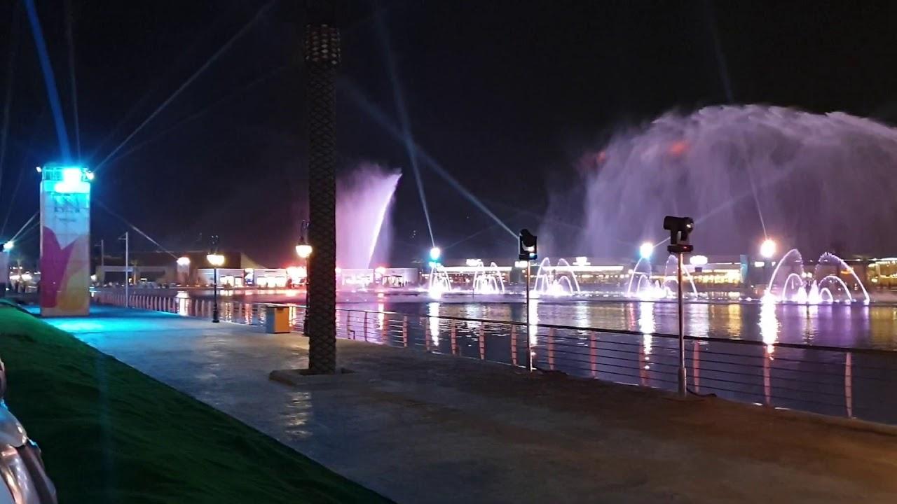 نتيجة بحث الصور عن النافورة الراقصة في بوليفارد الرياض