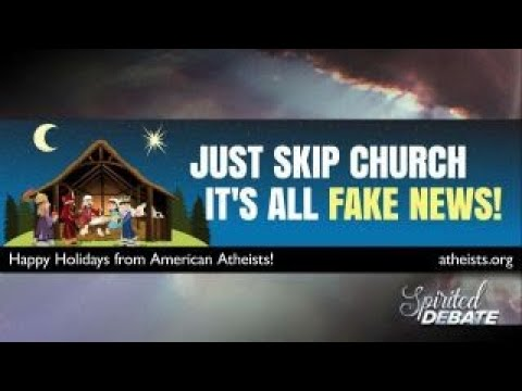 Atheist billboards say Church is fake news around the country