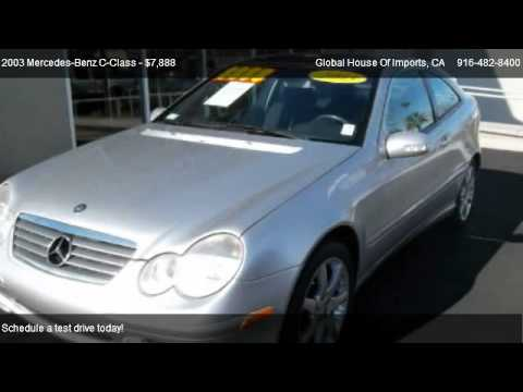 2003 mercedes benz c class c230 sport coupe for sale in sacramento ca 95825 youtube. Black Bedroom Furniture Sets. Home Design Ideas