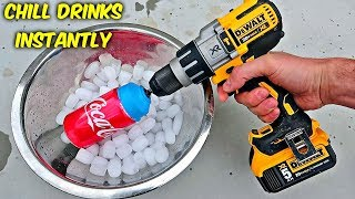 6 Instant Drink Chiller Test