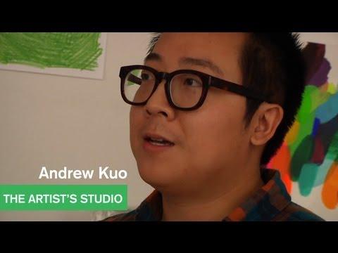 Andrew Kuo - Artists Talk with Alia Shawkat and Lance Bangs - The Artist's Studio - MOCAtv