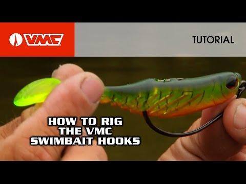 Rigging The VMC® Swimbait Jig & Hook