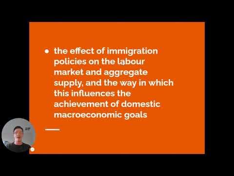VCE Economics - Immigration Policy