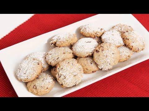 Homemade Pecan Sandies Recipe - Laura Vitale - Laura In The Kitchen Episode 833