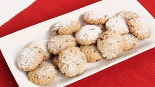 Homemade Pecan Sandies Recipe - Laura Vitale - Laura in the Kitchen Episode 833