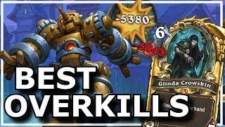 Hearthstone - Best Overkills