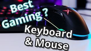 Best Quiet Mechanical Keyboard and Mouse | Sound BlasterX Siege M04, Vanguard K08