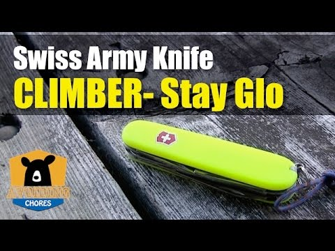 Review Of The Victoriox Swiss Army Knife Climber With