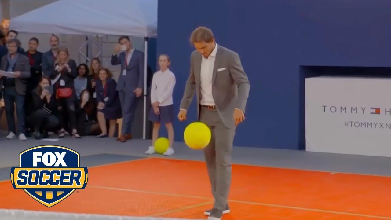 Download Tennis star Rafa Nadal has legit soccer skills   FOX SOCCER