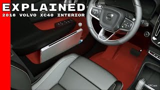 2018 Volvo XC40 Interior Explained