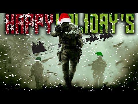 HAPPY HOLIDAYS OUTLAWZ !!! (MODERN WARFARE REMASTERED)