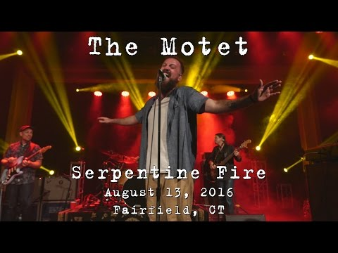The Motet: Serpentine Fire [4K] 2016-08-13 - The Warehouse; Fairfield, CT