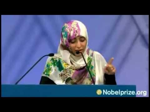 The Nobel Peace Prize Award Ceremony 2011-Tawakkol Karman Speech 10 December 2011