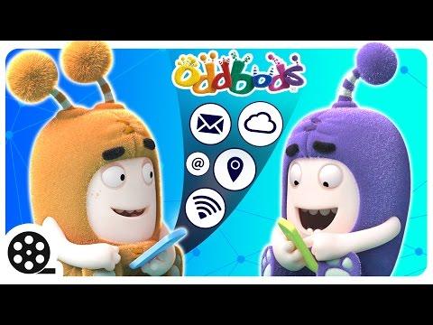 Save Cartoon | Tech Savvy Oddbods | Mini Cartoon Movie Snapshots