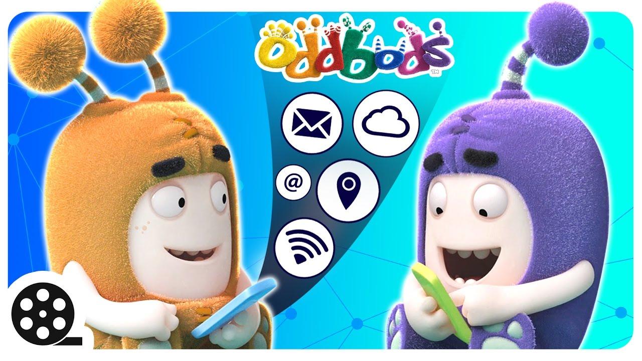 Cartoon Tech Savvy Oddbods Funny Videos For Children Youtube