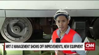 MRT-3 management shows off improvements, new equipment