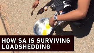 While Eskom continues to keep the country in the dark, South Africans take to social media to show how they are dealing with load shedding.
