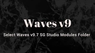 Select Waves  v9.7 SG Studio Modules Folder