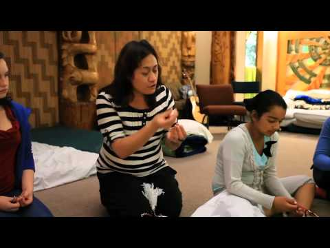 AUT International Student Noho Marae