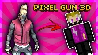DRIFT en Pixel Gun 3D| FORTNITE SKIN TUTORIAL