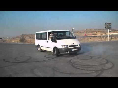 Ford Transit Insane Drift, Donut, Kayseri işi Drift !!!