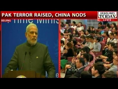 Modi's Full Speech At Tsinghua University In China