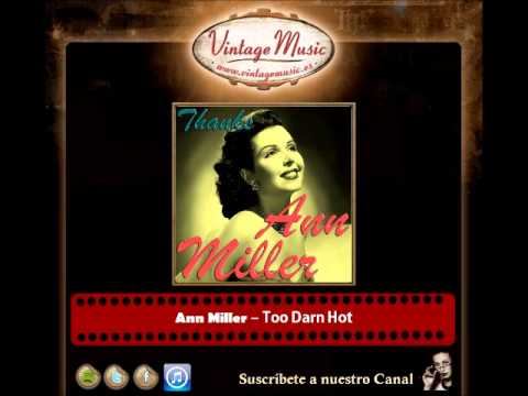 Ann Miller -- Too Darn Hot