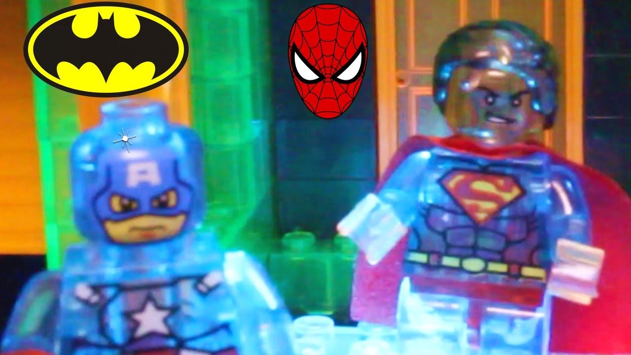 9da005bf7b28e Superhero Toys HALLOWEEN PARTY with Batman, Spiderman, Superman, Joker,  Zombies Toy Video for Kids
