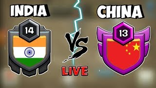 INDIA 🔥 vs CHINA 🔥 WAR / CLASH OF CLANS