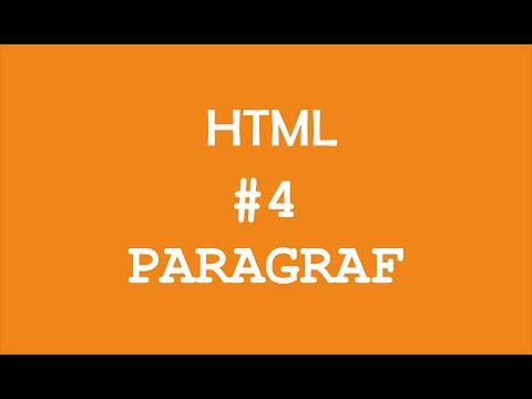 Paragraf HTML #4 - Pemrograman Web