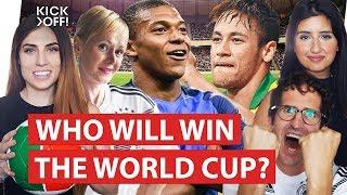 Brazil, Belgium, France, Uruguay, Russia, Croatia, England, Sweden   Who