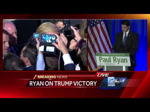 presidential race paul ryan shouted down trump supporters wisconsin