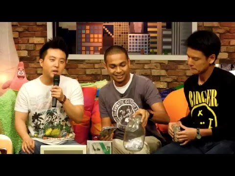 David Choi interview at 8tv Quickie