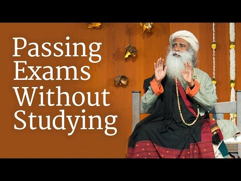 Passing Exams Without Studying