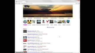 Eflip Cool Sites - Your Window to the Web