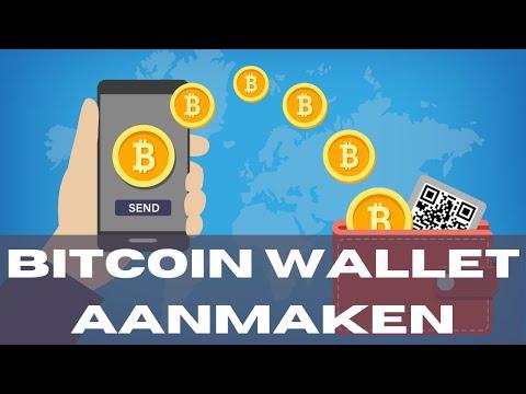 Bitcoin Wallet Aanmaken