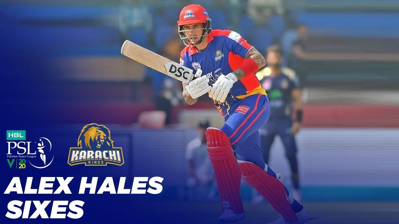 Alex Hales Sixes | HBL PSL 2020 | MB2T