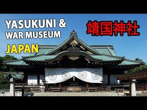 Yasukuni Shrine and War Memorial Museum in Tokyo, Japan