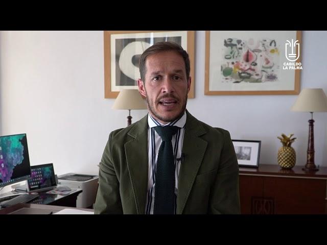 Declaraciones del presidente de la Fecai sobre el costo del Combustible en La Palma.