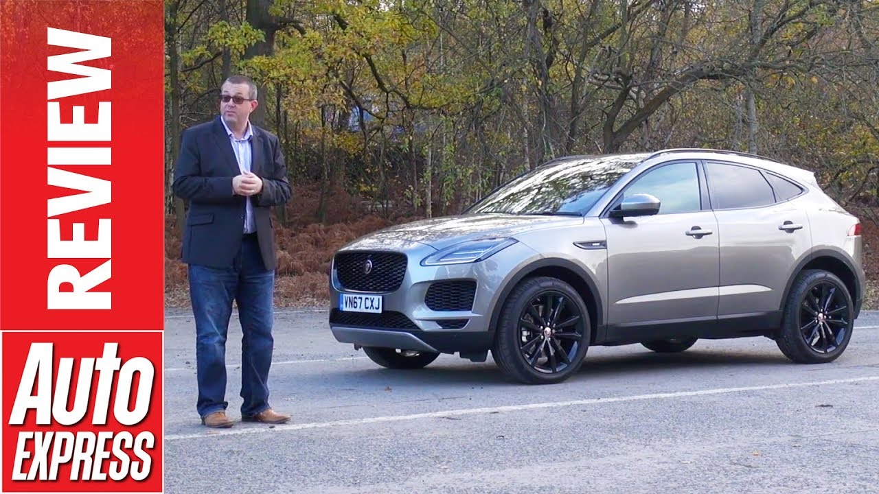 Jaguar E-Pace review: SUV arrives to take on Audi Q3 and BMW X1 - Dauer: 4 Minuten, 5 Sekunden
