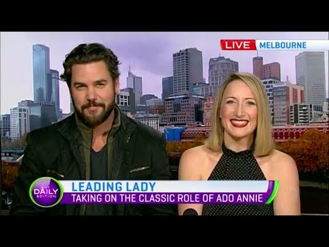 Elise McCann & Ben Mingay talk 'Oklahoma' on The Daily Edition Channel 7