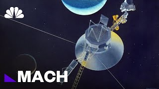 How Far Into Space Is NASA's Voyager 2 Right Now? (Very, Very, Very Far) | Mach | NBC News