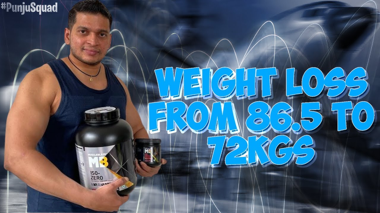 My Weight Loss Journey From 86.5 To 72Kgs In 3 Months