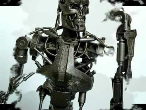 T 700 Terminator Hot Toys - Terminator Salvation - T-700 Endoskeleton - YouTube