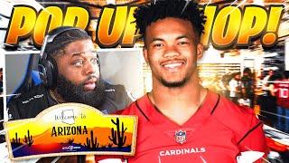 FaZe Nuke Squad takes over Arizona! Kyler Murray Pop Up Shop! (VLOG)