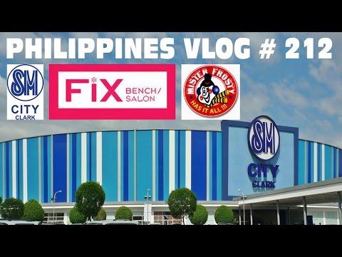 SM City Clark + Bench Fix Salon + Mister Frosty | Philippines Vlog # 212